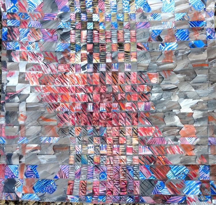 toile tressée  50x50